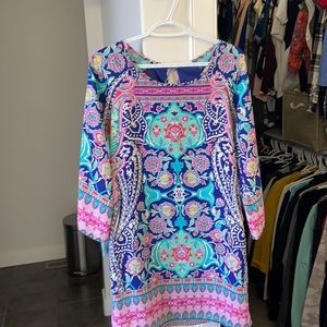 Retro Multicoloured Dress
